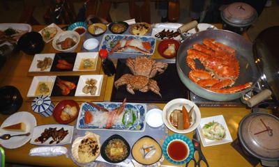 サロマ湖「船長の家」の夕食