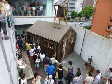 中村好文展「小屋においでよ!」の小屋